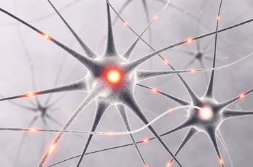 Grafische Darstellung von einem Schmerz-Molekular