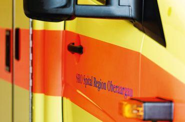 Ambulanz vom Rettungsdienst SRO