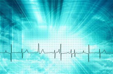 Herzschlag-Kurve