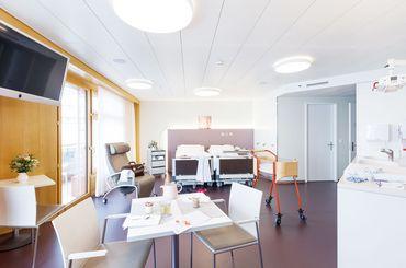 Familienzimmer in der Frauenklinik