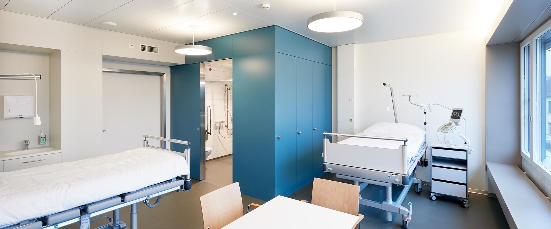 Neues Patientenzimmer ab Herbst 2018