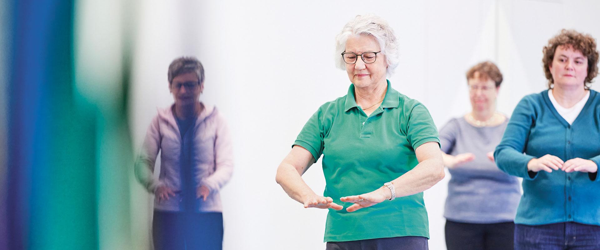 Tai-Chi Gesundheit Aufbaukurs