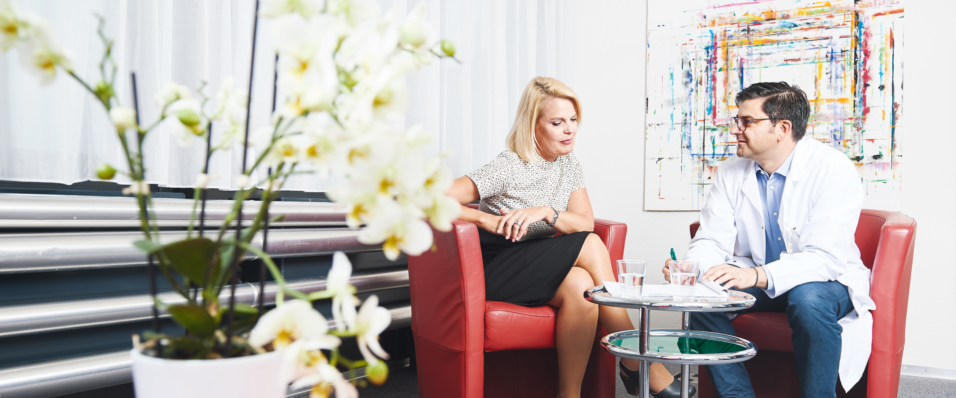lic. phil. Marieke Kruit, Fachpsychologin im Gespräch mit Dr. med. Ramin Atefy, Psychiater