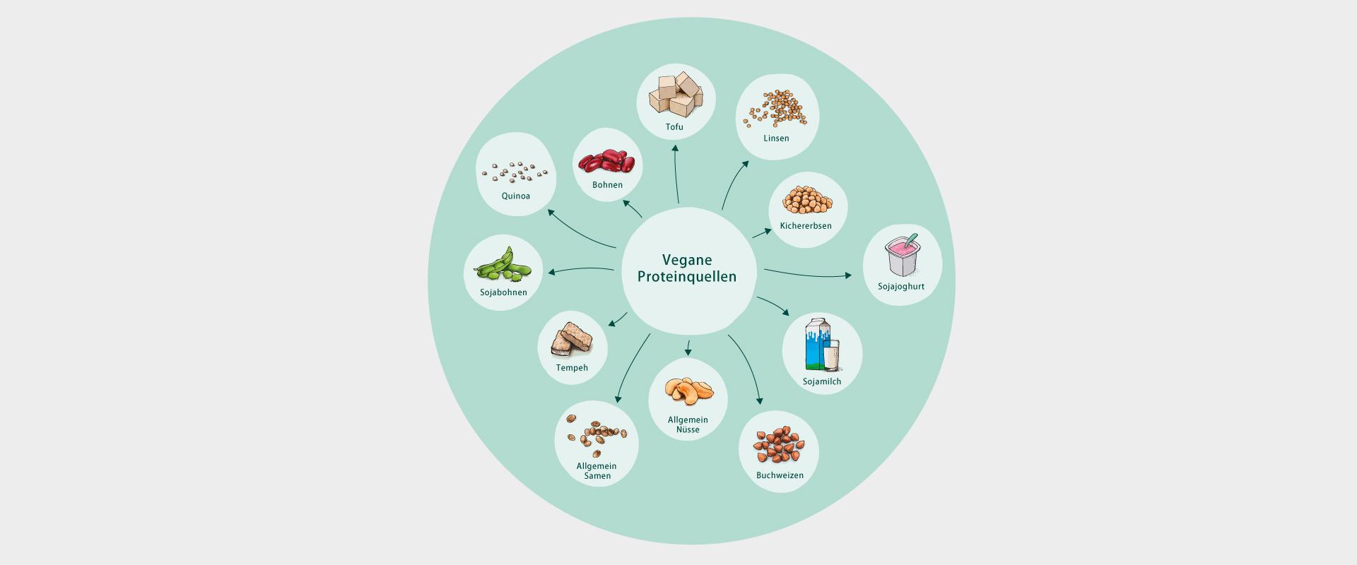 Vegane Ernährungsübersicht