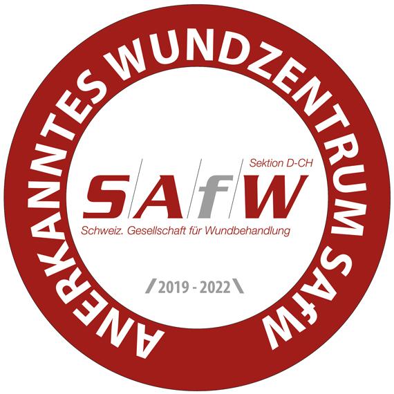 Logo - Schweizerische Gesellschaft für Wundbehandlung SAfW