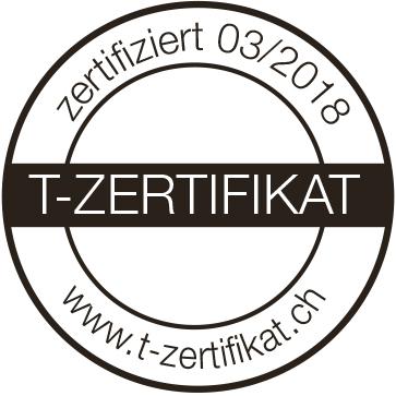 Logo T-Zertifikat
