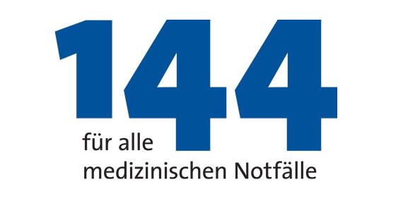 144 für alle medizinischen Notfälle