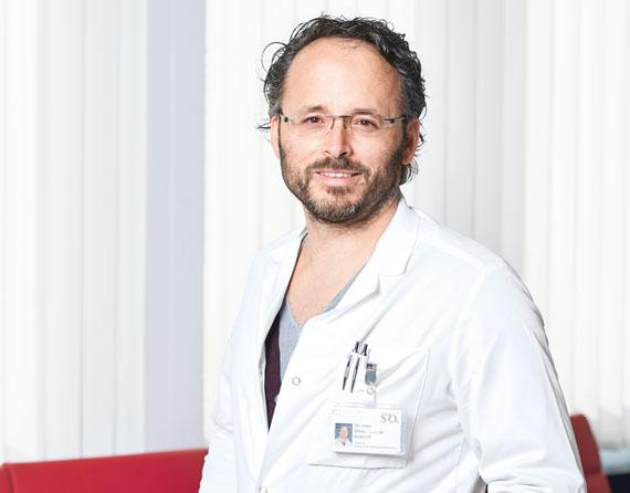 Dr. med. Oliver Schmidt, Chefarzt Wirbelsäulenmedizin