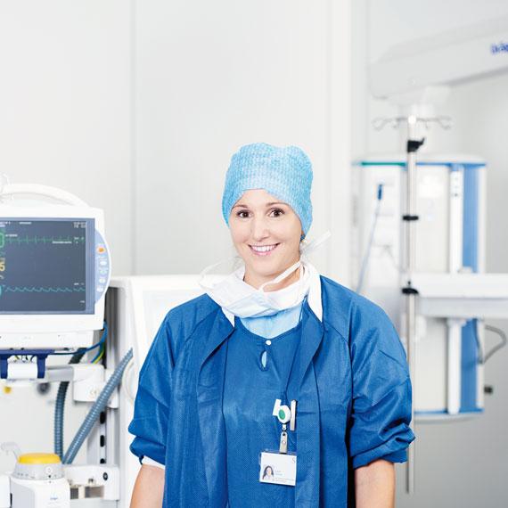 Sarah Steiner, Pflegefachfrau in Weiterbildung zur Dipl. Expertin Anästhesiepflege